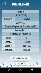 Aves Acuaticas app