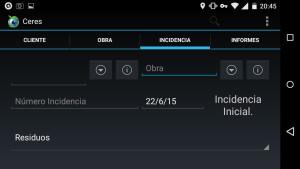 Ceres app