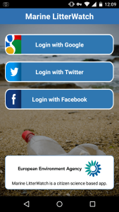 Marine LitterWatch app