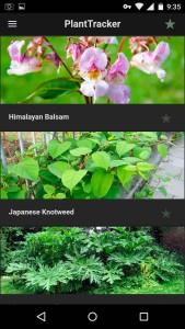 PlantTracker app