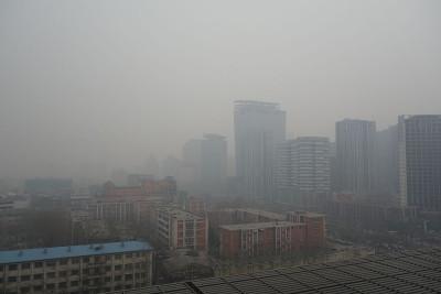 Contaminación atmosférica en Beijing
