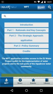 Water project Toolkit app