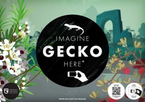 Imagine app gecko