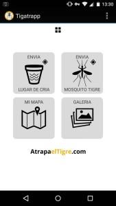 Tigatrapp app