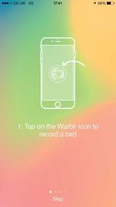 Warblr app