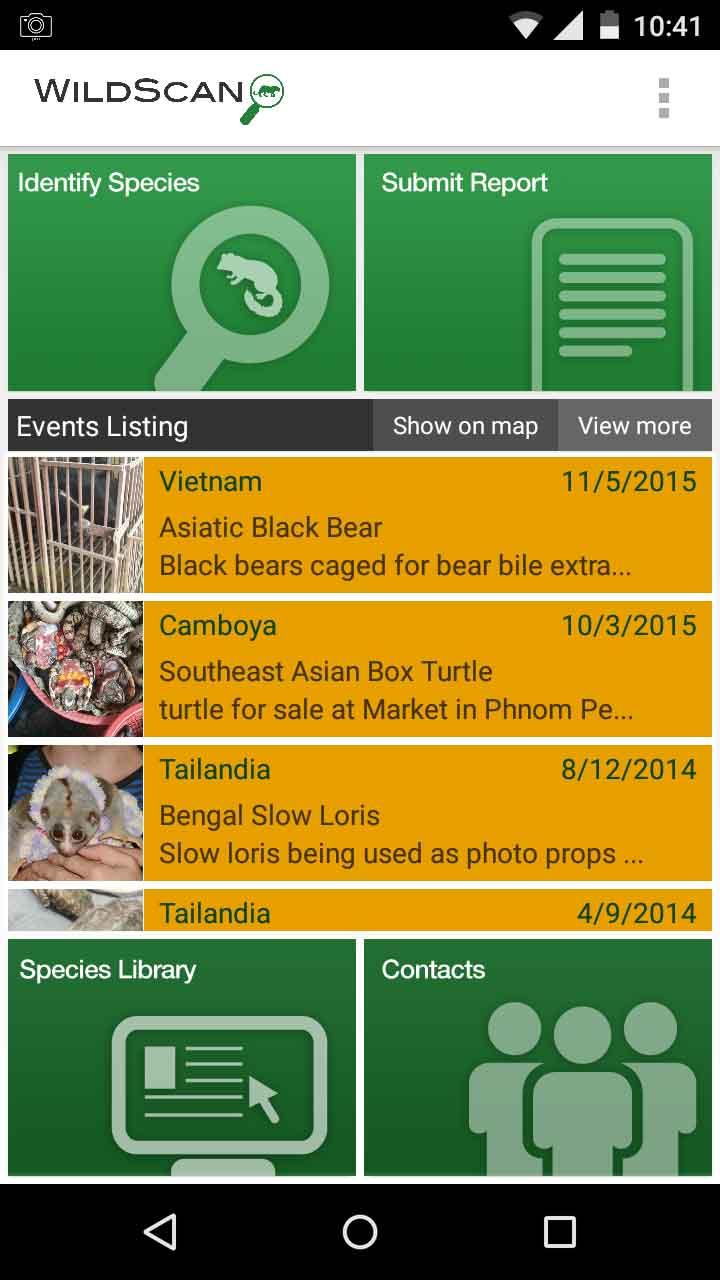WildScan app