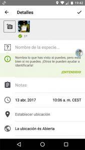 iNaturalist, un cuaderno de campo en tu móvil