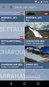 wgms Glacier app