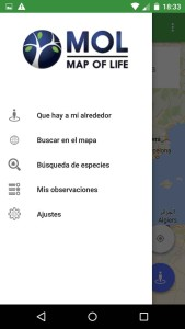 Map of Life app