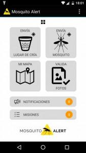 Mosquito alert app (Oct 2016)