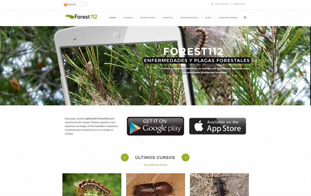 Forest112 webapp