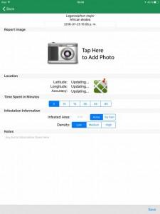 EDDMapS app