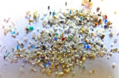 Microplásticos en el mar © Oregon State University