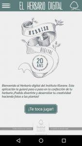 El Herbario Digital app