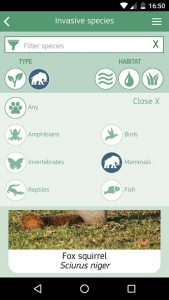 IASEurope, app para controlar las especies exóticas / IAS Europe, to curb non native species