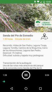 Lagunas de Ruidera app