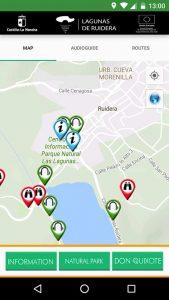 Ruidera lakes app