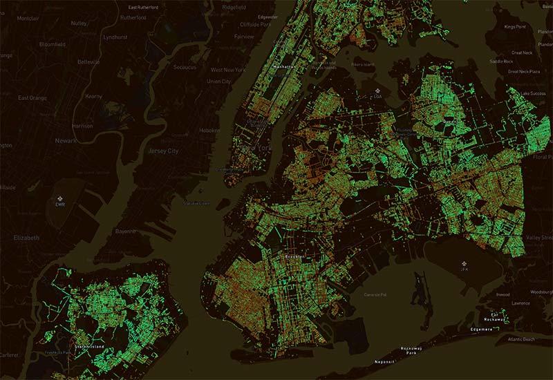 Treepedia, una herramienta para visualizar los beneficios de los árboles