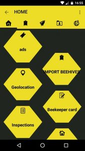 Vespa Velutina, an app to manage your beehives and fight against the Asian hornet