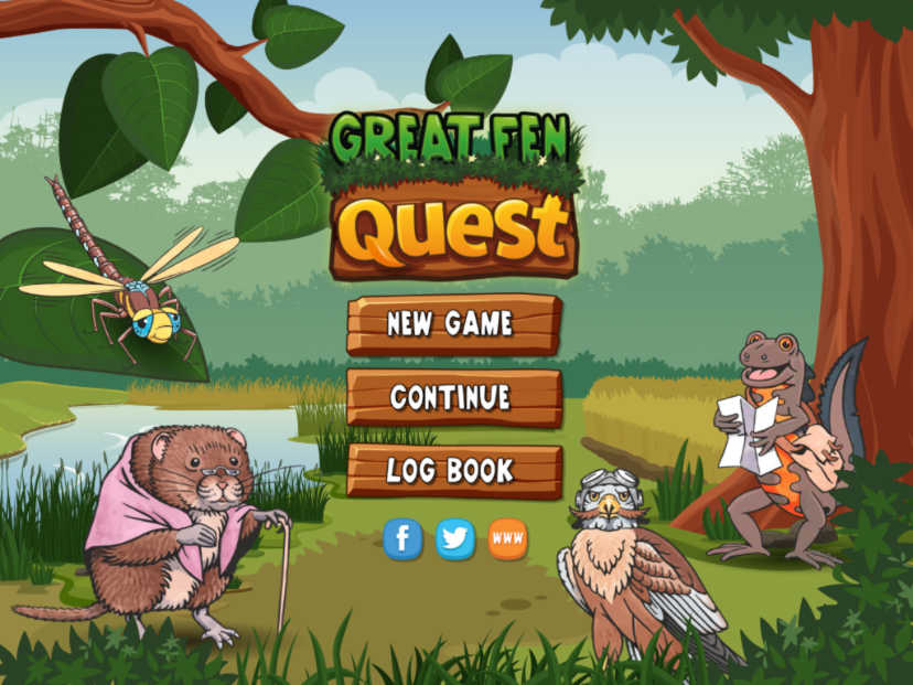 Greenapps&web | Great Fen Quest, knowing wild animals and plants of