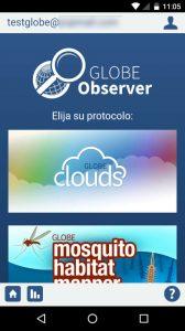 GLOBE Observer, colabora con los proyectos de ciencia mediante tus observaciones