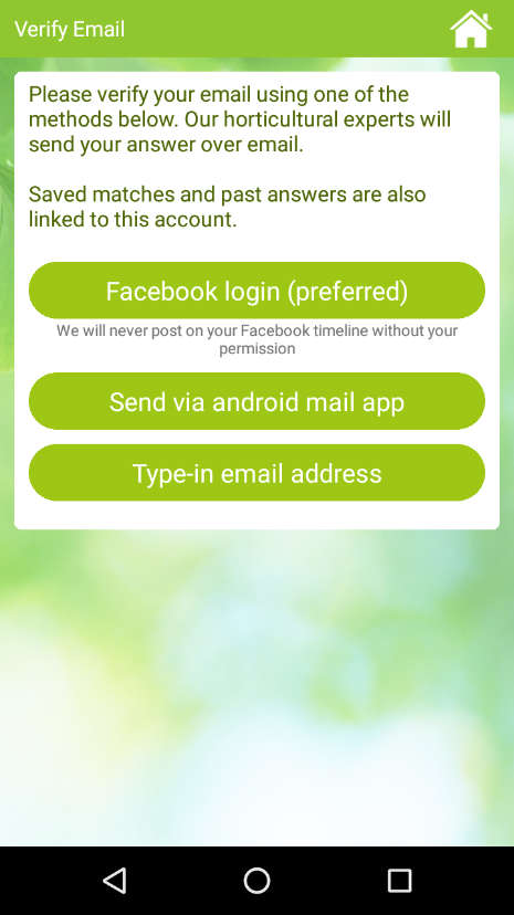 Greenapps Web Garden Answers App For Identifying Plants Through Their Pictures