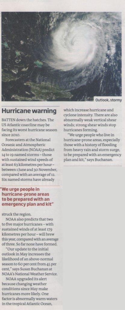 ¿La tecnología puede resultar de utilidad para prevenir las catástrofes naturales?