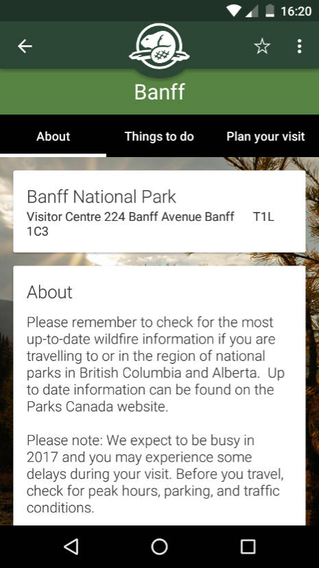 canada national parks free pass application