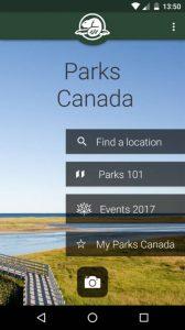 Parks Canada, una app para conocer los paisajes de Canadá y sus enclaves naturales