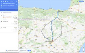 Google Maps Carbon Footprint, una extensión para calcular la huella de carbono de un viaje
