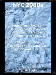 After, Ice, una app para ver el calentamiento global y sus consecuencias