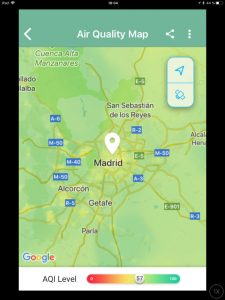 BreezoMeter, check the air quality index (AQI) in real time