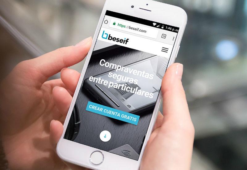 Beseif, una app que fomenta la reutilización garantizando tus compras de segunda mano