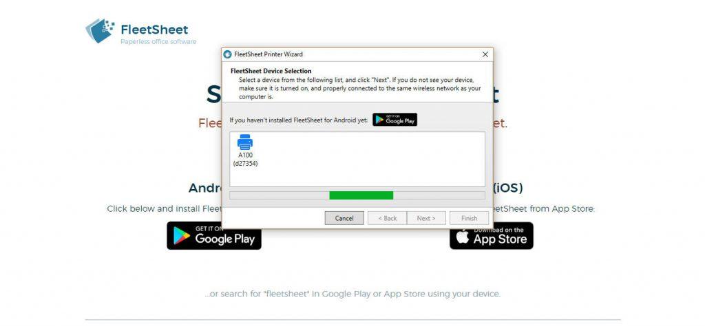 FleetSheet, la app para incrementar el ahorro de papel en tu oficina u hogar
