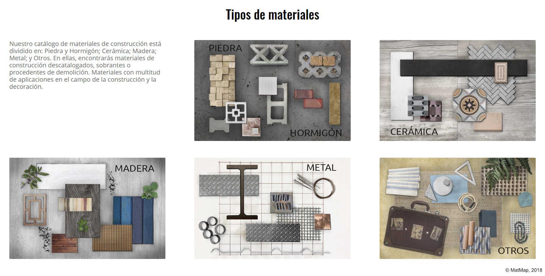 MatMap, la plataforma que introduce la economía circular en la construcción