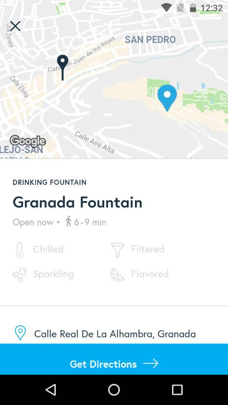 Tap, la app para rellenar tu botella de agua reutilizable