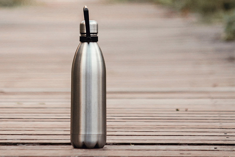 Tap app, refill your reusable water bottle